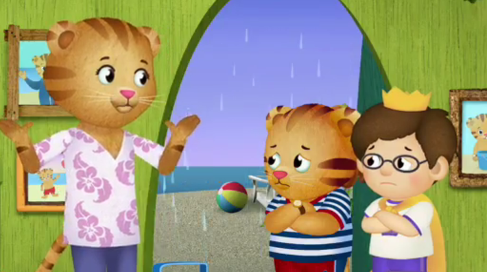 No Sand in the House | Daniel Tiger\'s Neighborhood | Health and ...