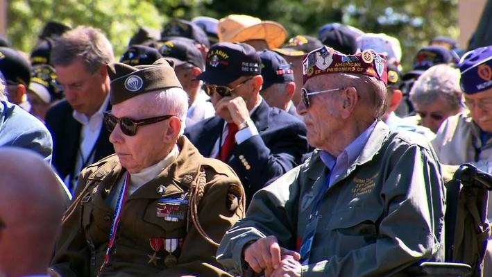 D-Day Veterans Return to Normandy 70 Years Later Video