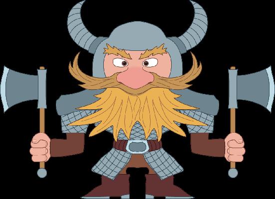 Dwarf Warrior | Clipart