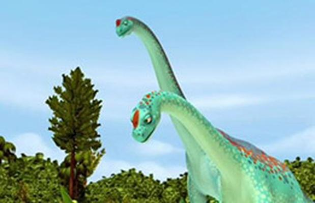 Being a Big Dinosaur - Dinosaur Train | PBS KIDS Lab