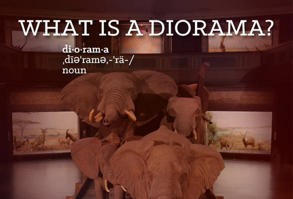 What is a Diorama?