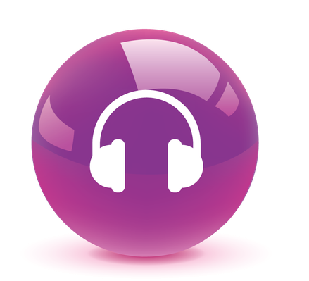Earphone Button Icon | Clipart