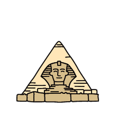 Landmarks - Sphinx | Clipart