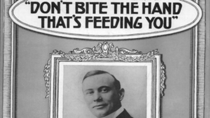 Don't Bite the Hand That's Feeding You (Musical Score)