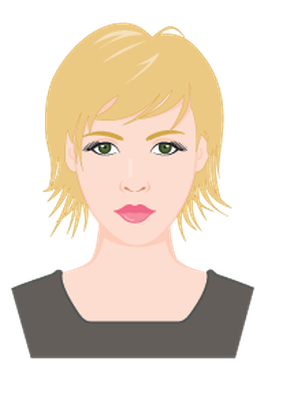 Beautiful Female Portraits | Clipart