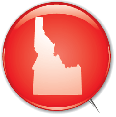 Campaign Buttons - Idaho | Clipart