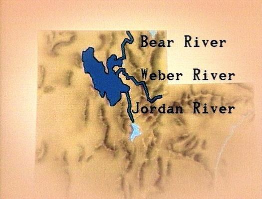 Bear, Weber, and Jordan Rivers | Images of Utah