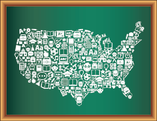 Education & Back to School Blackboard Collection: United States | Clipart