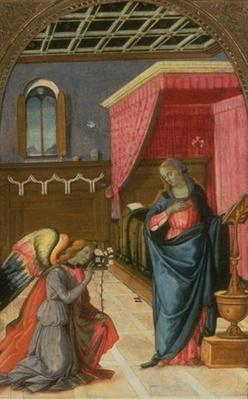 Val A. Browning Memorial Collection: The Annunciation