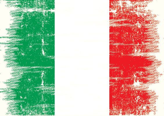 Grunge Flag: Italy | Clipart