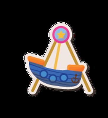Cartoon Playground Stickers - 3 | Clipart