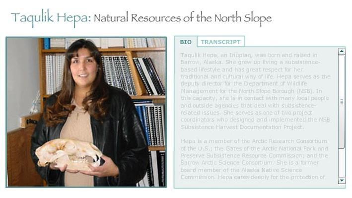 Taqulik Hepa: North Slope Natural Resources