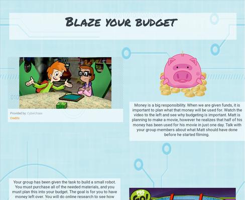 Blaze Your Budget