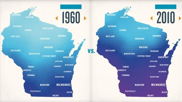Climate Wisconsin | Temperature Change