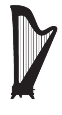 Music Instruments Silhouette   Clipart