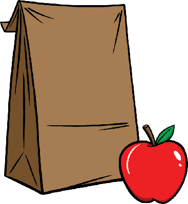 Sack Lunch | Clipart