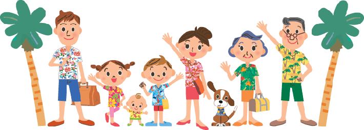 I Travel in Good Friend Families | Clipart