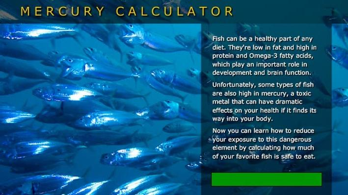 Mercury Calculator