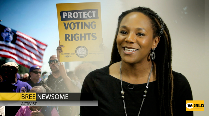 Today's Civil Rights Activists: Bree Newsome