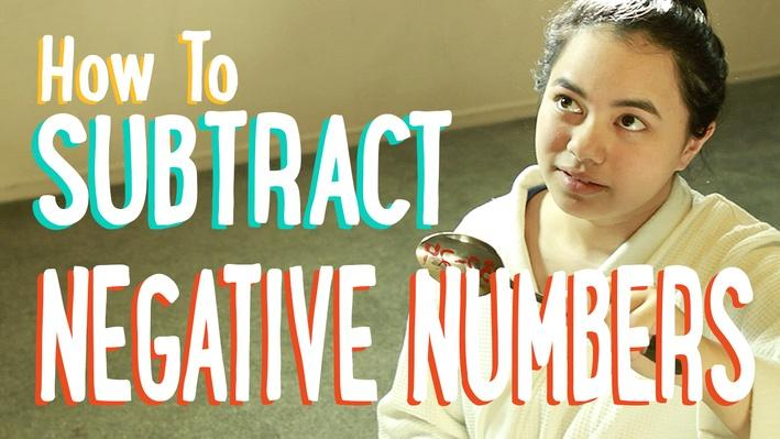Subtracting and Adding Positive and Negative Numbers| PBS MathClub