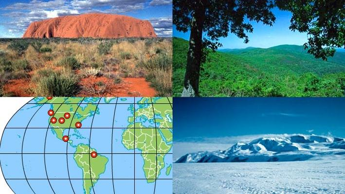 Observe Images of Different Climate Zones