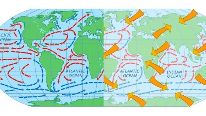 Examine Global Surface Currents