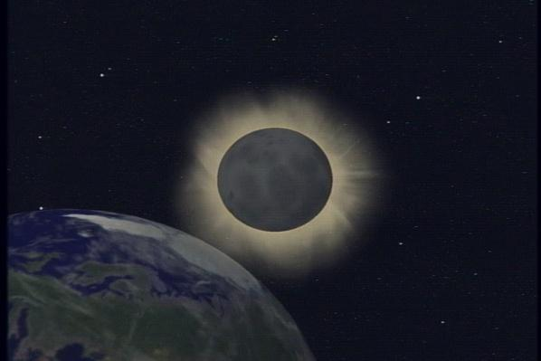 Total Solar Eclipse Animation