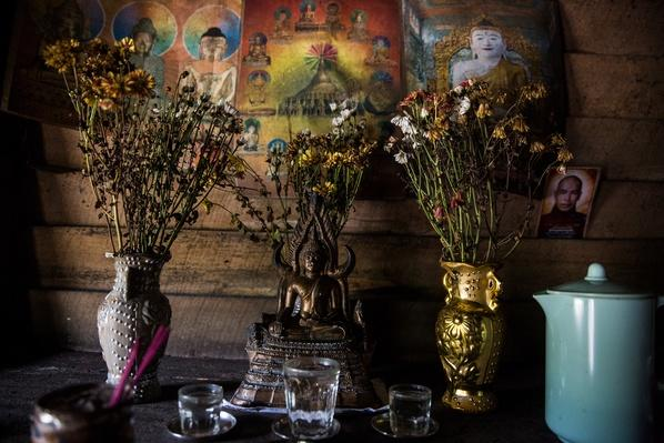 Buddhist Shrine | Global Oneness Project