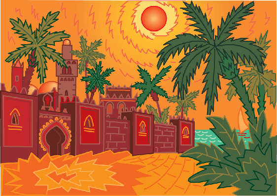 Marrakesh | Clipart