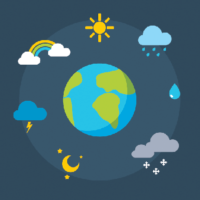 Weather Icons Set | Clipart
