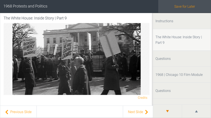 1968 Protests and Politics