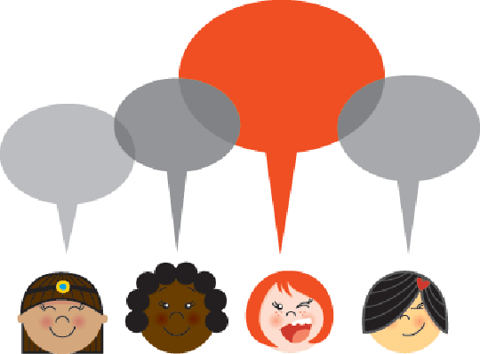 Girls Talk | Clipart