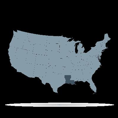 U.S. States - Louisiana | Clipart