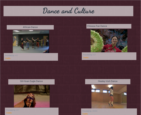 Dance and Culture for Middle Schoolers