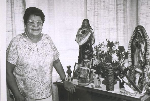 Hispanic Culture in Utah: Hecho en Utah (Made in Utah): Mary Martinez with her Home Altar