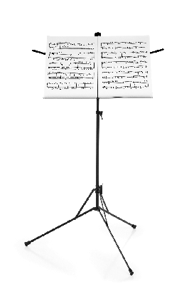 Stand With Sheet Music | Clipart