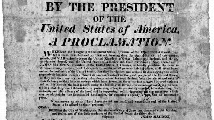 Proclamation of War Image