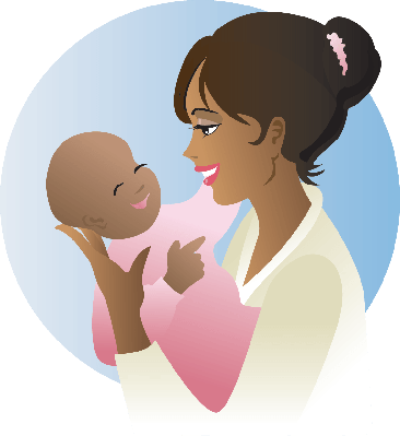 Baby Girl | Clipart