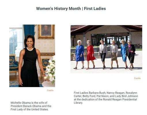 Women's History Month | First Ladies