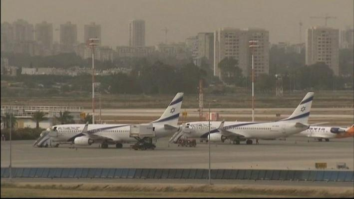 Some Countries Temporarily Halt Commercial Flights to Israel Video