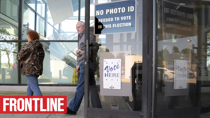 FRONTLINE: Why Voter ID Laws Aren't Really about Fraud