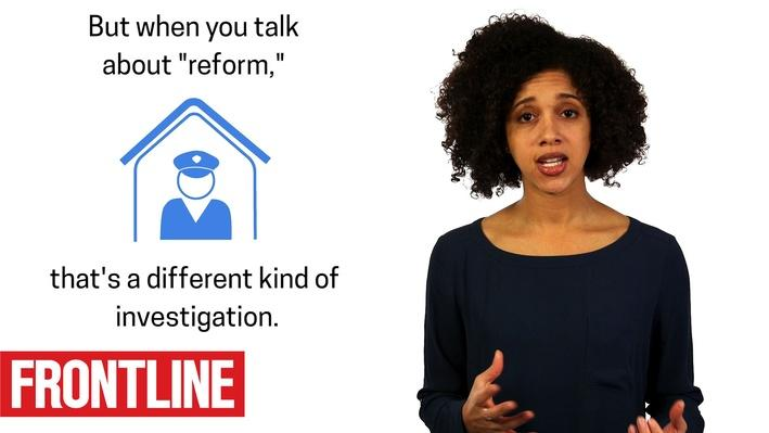 #AskFRONTLINE | What's the Difference Between Police Investigations & Police Reform?