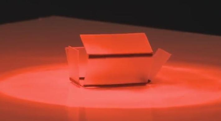 Inside Science | Folding Objects with Light