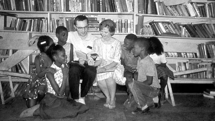"Freedom Summer Volunteers Create ""Freedom Schools"""