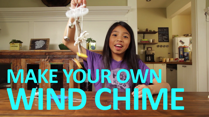 Make Your Own WIND CHIME | Full-Time Kid