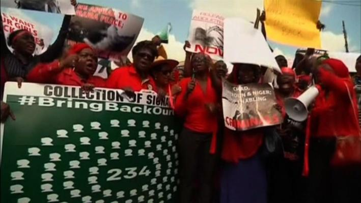 Outrage Over Kidnapped Girls Spreads Beyond Nigeria