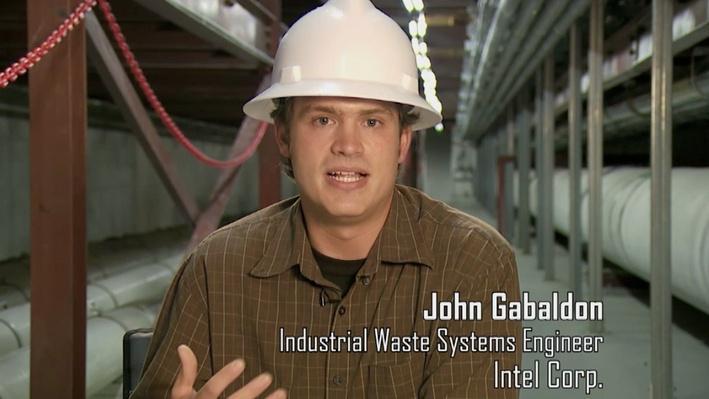 John Gabaldon, Industrial Waste Systems Engineer