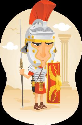 Roman Soldier | Clipart