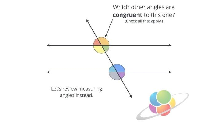 Corresponding Angles | School Yourself Geometry