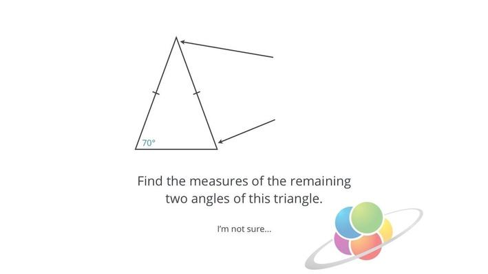 Angles in Isosceles and Equilateral Triangles | School Yourself Geometry